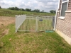 RAF 200 White Aluminum fencing with standard gates