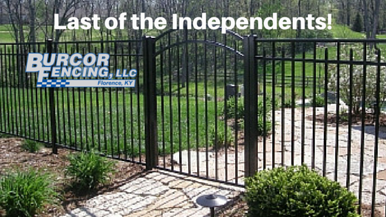 "Burcor Fencing – ""Last of the Independents"" – Proud to Meet All of Your Fencing Needs"