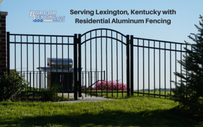 Dear Lexington, A Little More About Our Aluminum Fencing